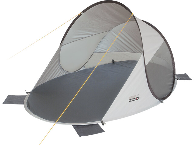 High Peak Calobra 80 Beach Shelter aluminium/dark grey